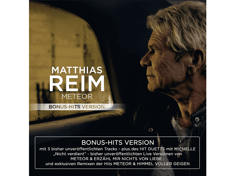 Matthias Reim - Meteor-Bonus-Hits Version [CD]