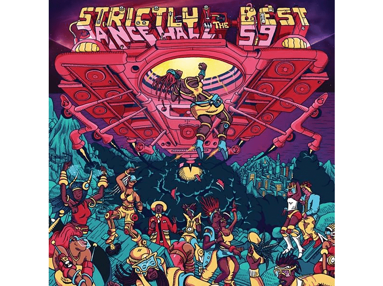 Various: Strictly The Best - Strictly The Best 59 (Dancehall Edition) [CD]