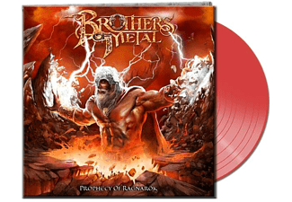 Brothers Of Metal - Prophecy Of Ragnarök (Lim.Gtf.Clear Red Vinyl) - (Vinyl)