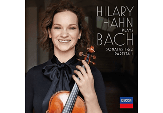 Hilary Hahn - Hilary Hahn Plays Bach: Sonatas 1 & 2,Partita 1 - (Vinyl)