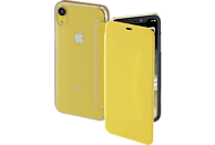 HAMA Clear , Bookcover, Apple, iPhone XR, Polycarbonat/Polyurethan, Gelb/Transparent