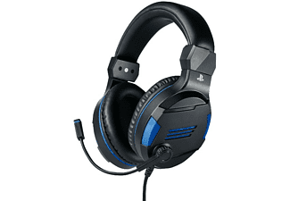 Auriculares gaming - BigBen Stereo Headset V3, Micrófono, PS4, PC