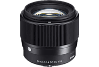 SIGMA 56mm F1,4 DC DN | Contemporary MFT  für Micro-Four-Thirds , 56 mm - 56 mm , 1.4