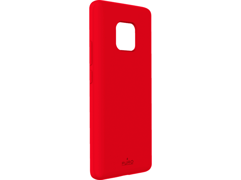 PURO ICON  , Backcover, Huawei, Mate 20 Pro, Thermoplastisches Polyurethan, Rot