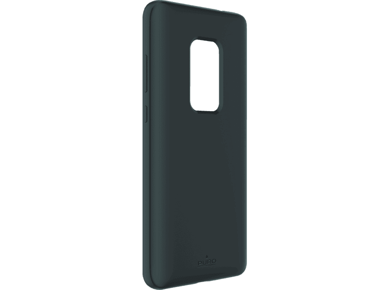 PURO ICON  , Backcover, Huawei, Mate 20, Thermoplastisches Polyurethan, Grau