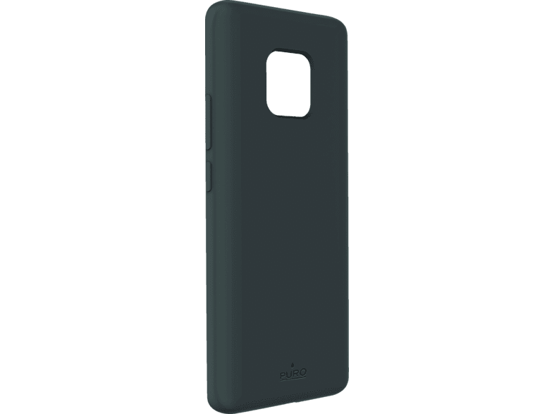 PURO ICON  , Backcover, Huawei, Mate 20 Pro, Thermoplastisches Polyurethan, Grau