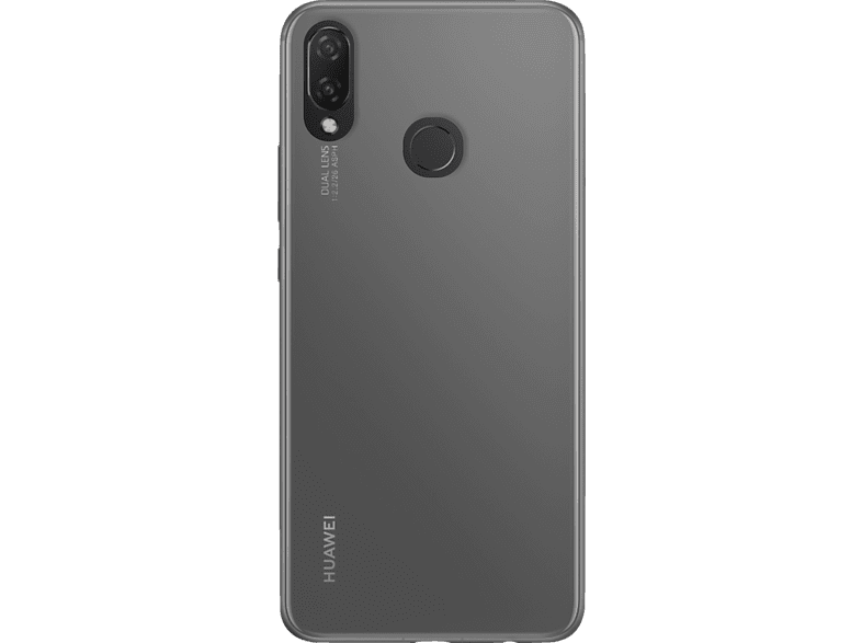 PURO Nude , Backcover, Huawei, P Smart Plus, Thermoplastisches Polyurethan, Transparent