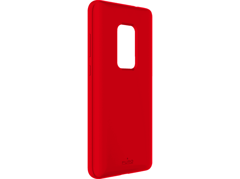 PURO ICON  , Backcover, Huawei, Mate 20, Thermoplastisches Polyurethan, Rot
