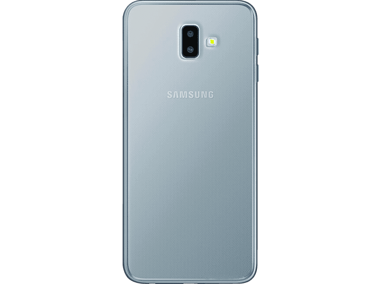 PURO  Nude Backcover Samsung J6+ Thermoplastisches Polyurethan Transparent | 08033830269646