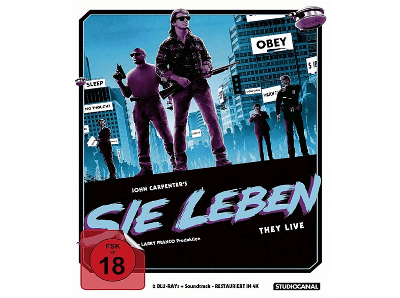 Sie Leben/Limited Soundtrack Edition [Blu-ray]