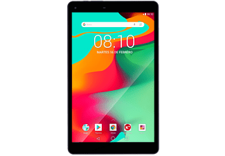 "Tablet - Woxter X100, 10.1"" IPS, Bluetooth, Android 8.1, compatible 4K, QuadCore, 8 GB, Negro"