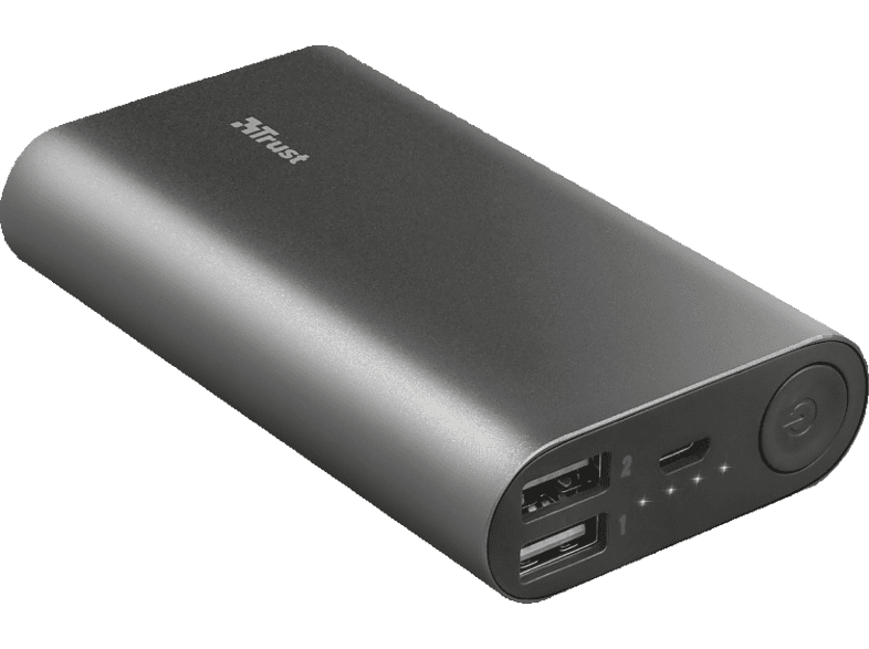 TRUST Urban Luco Powerbank 7500 mAh Anthrazit