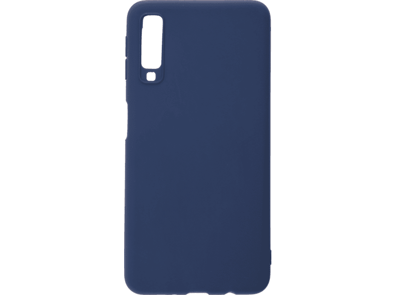 V-DESIGN VMT 303 , Backcover, SAMSUNG, Galaxy A7, Thermoplastisches Polyurethan, Blau