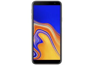 "Móvil - Samsung Galaxy J4+, 6"" HD, 4G, RAM 2 GB, 1.4 GHz, 32 GB, Dorado"