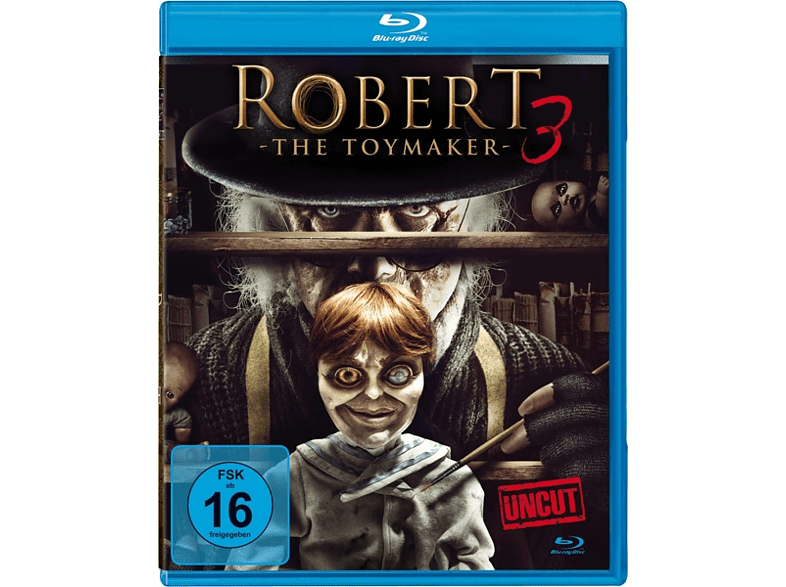 Robert 3-The Toymaker (Uncut) [Blu-ray]