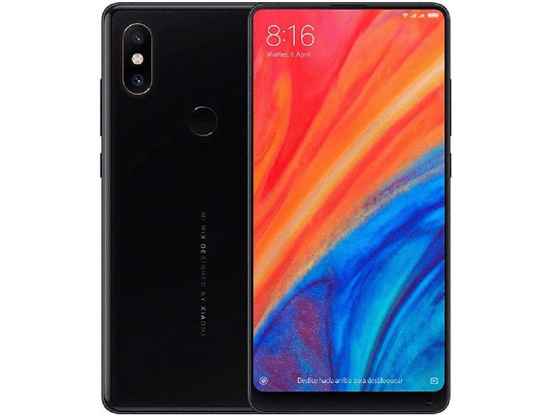 "Móvil - Xiaomi Mi Mix 2S, 5.99"" Full HD, 4G, 6 GB RAM, 128 GB 12MP + 5MP, Negro"