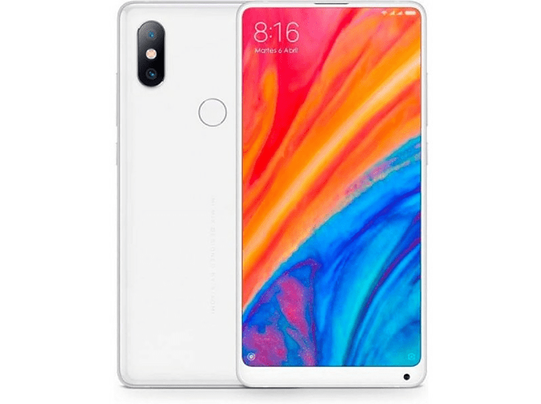 "Móvil - Xiaomi Mi Mix 2S, 5.99"" Full HD, 4G, 6GB, 128GB, 12MP + 5MP, Blanco"