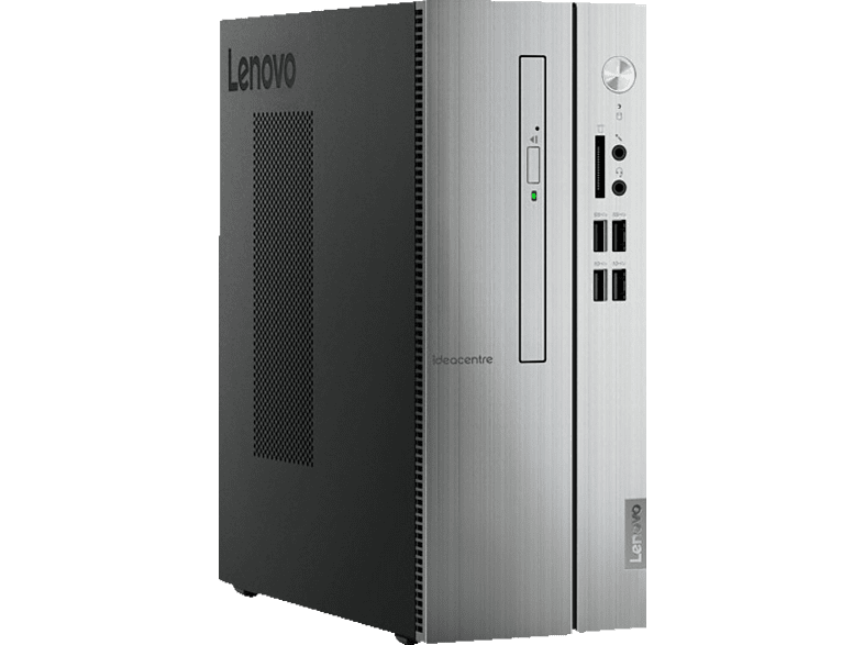 LENOVO IdeaCentre 510S, Desktop PC, Core™ i3 Prozessor, 8 GB RAM, 128 GB SSD, 1 TB HDD, Intel® UHD-Grafik 630, Warm Silver