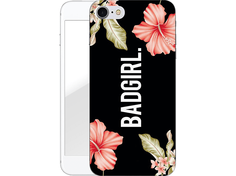 FINOO  Badgirl Backcover Apple iPhone 7/8 Kunststoff Mehrfarbig | 04251232961621