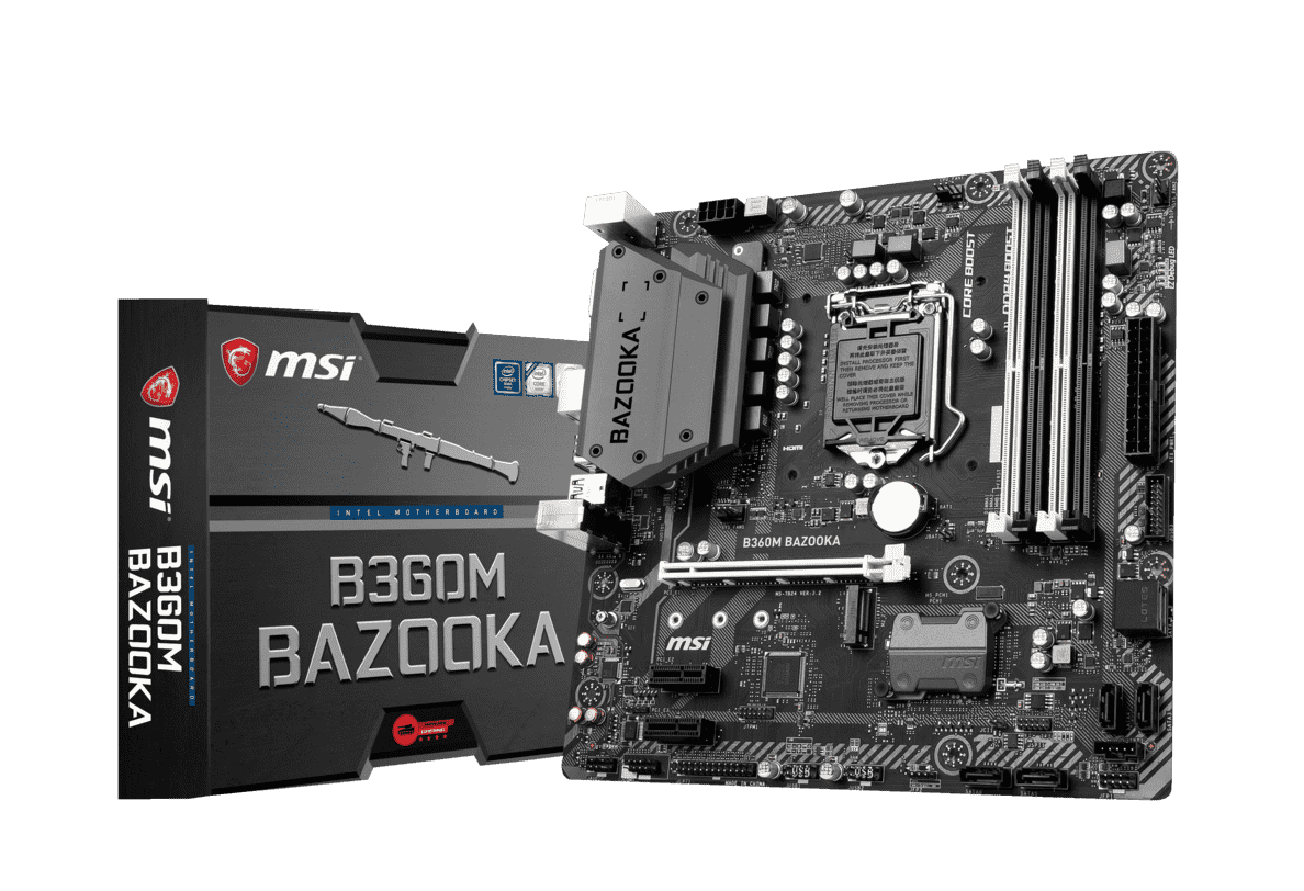 MSI B360M Bazooka Mainboard in