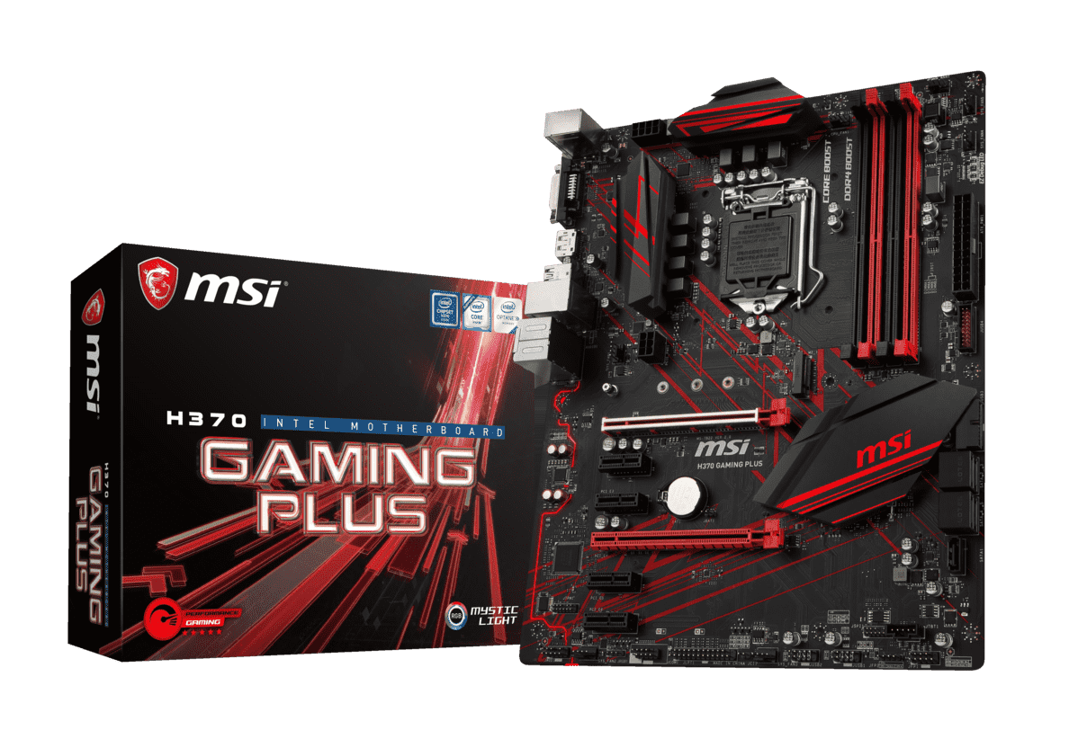 MSI H370 Gaming Plus Mainboard in