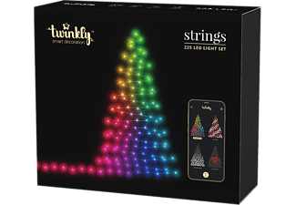 TWINKLY Strings 225 LED-Weihnachtslichterkette