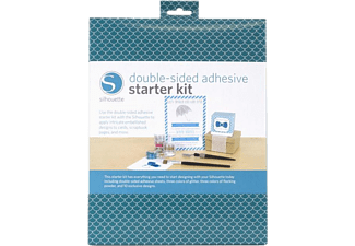SILHOUETTE Double-Sided Adhesive Starter Kit - Carta autoadesiva (Multicolore)