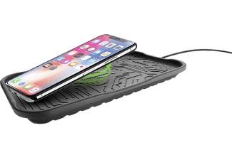 CELLULAR LINE Wireless Fast Charger Cradle - Kabelloses Ladegerät (Schwarz)
