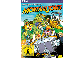Montana Jones - Vol. 1 - (DVD)