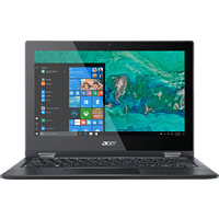 ACER Spin 1 (SP111-33-C4CF), Notebook mit 11.6 Zoll Display, Celeron® Prozessor, 4 GB RAM, 64 GB eMMC, Intel® UHD Graphics 600, Schwarz