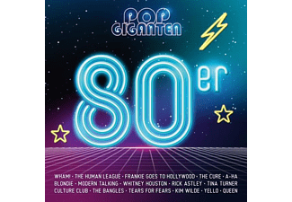 VARIOUS - Pop Giganten-80er - (CD)