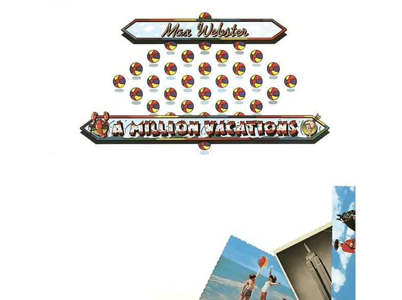 Max Webster - A Million Vacations (Collector's Edition) [CD]