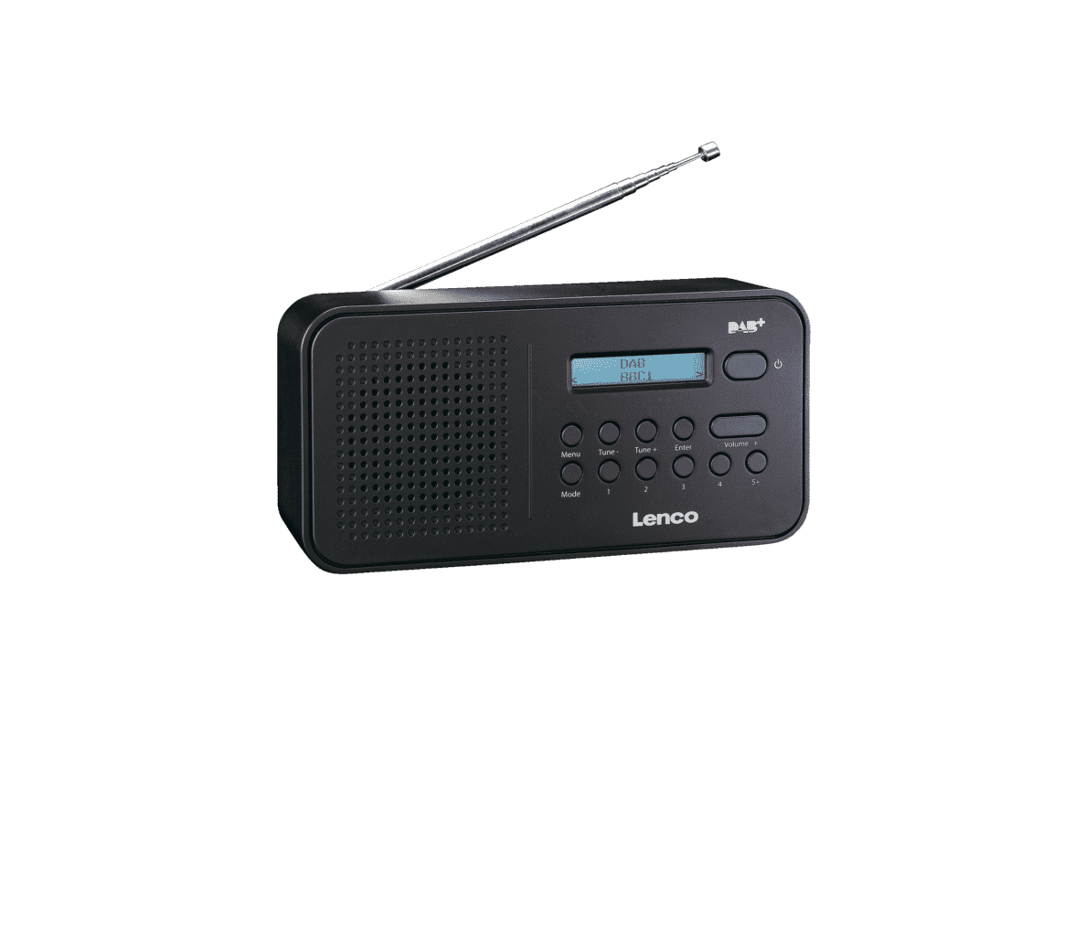 LENCO PDR-015 Digitalradio in Schwarz
