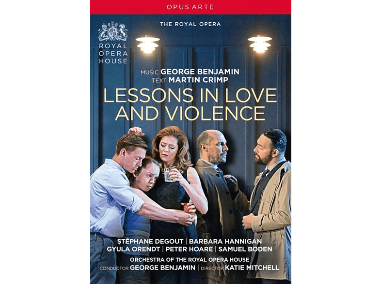 George Royal Opera House/benjamin - Lessons in Love and Violence [DVD]