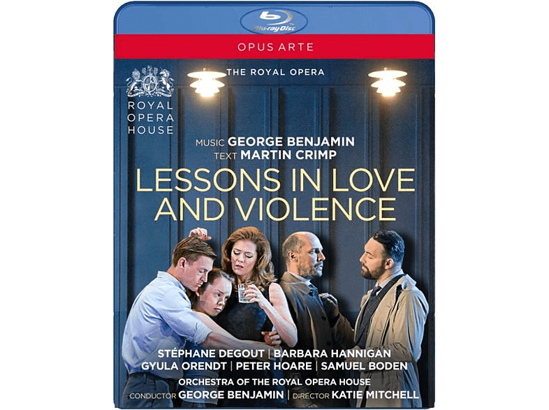 George Royal Opera House/benjamin - Lessons in Love and Violence [Blu-ray]