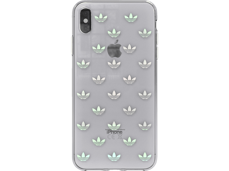 ADIDAS  Snap Backcover Apple iPhone XS Max Thermoplastisches Polyurethan Transparent   08718846063654