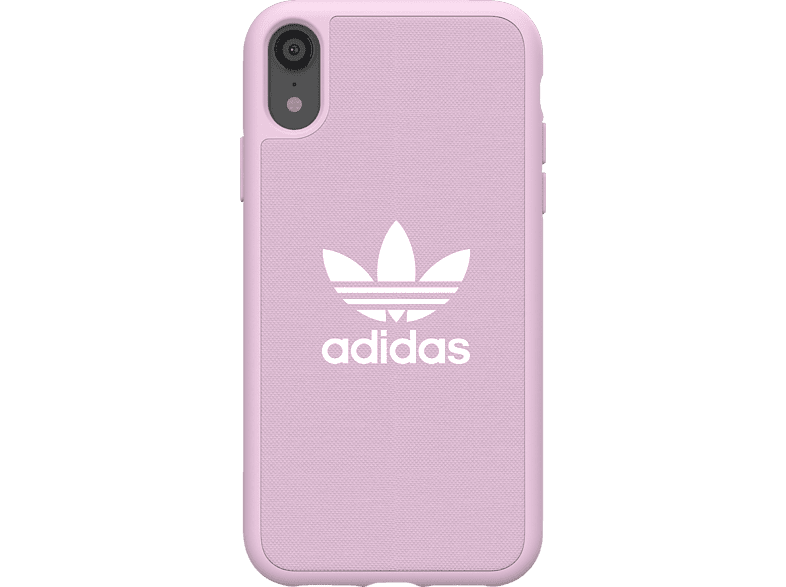 ADIDAS  Moulded Backcover Apple iPhone XR Thermoplastisches Polyurethan, Polycarbonat Pink | 08718846064040