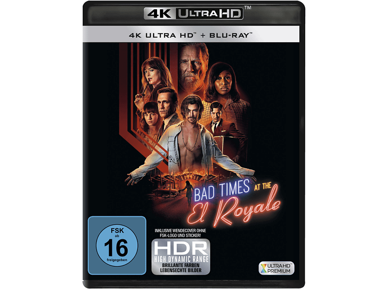 BAD TIMES AT THE EL ROYAL [4K Ultra HD Blu-ray + Blu-ray]