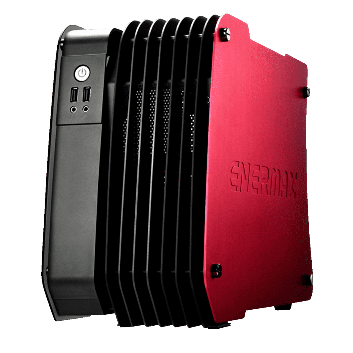 ENERMAX Steelwing Rot PC Gehäuse Dynamic Red