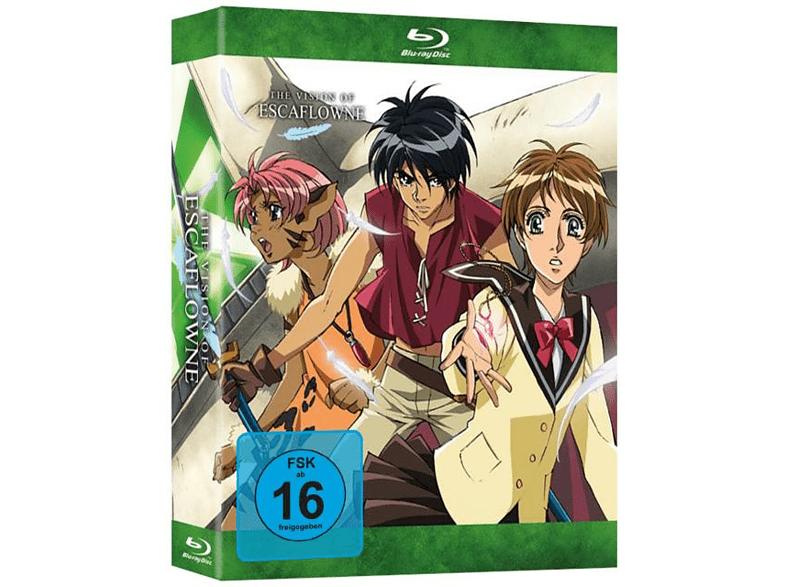 The Vision of Escaflowne - Die komplette Serie [Blu-ray]