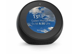 amazon echo spot sprachgesteuerter lautsprecher mit. Black Bedroom Furniture Sets. Home Design Ideas