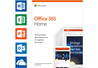 Office 365 Home (NL) - Tot 6 personen
