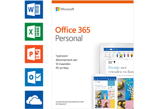 Office 365 Personal (NL) - 1 persoon