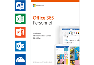 Office 365 Personal (FR) - 1 user