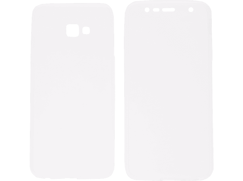 V-DESIGN  V-LV 095 Full Cover Samsung J4 Plus Thermoplastisches Polyurethan Transparent | 04056212043256