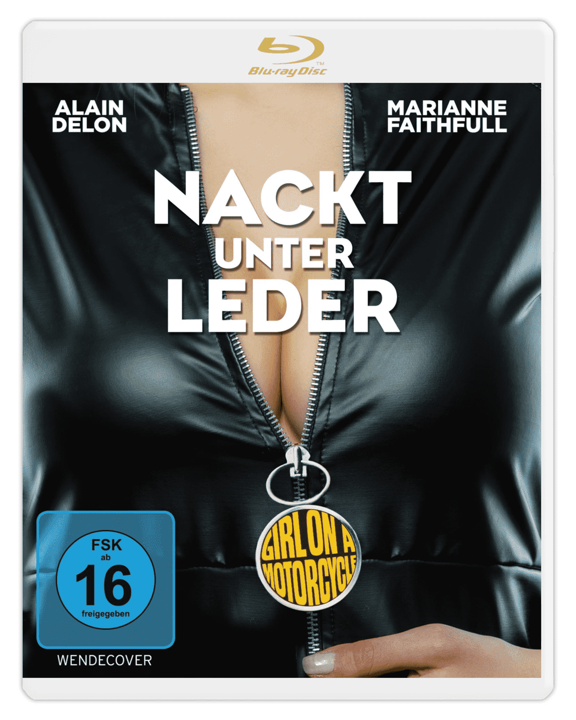 Nackt unter Leder (The Girl on a Mo auf Blu-ray