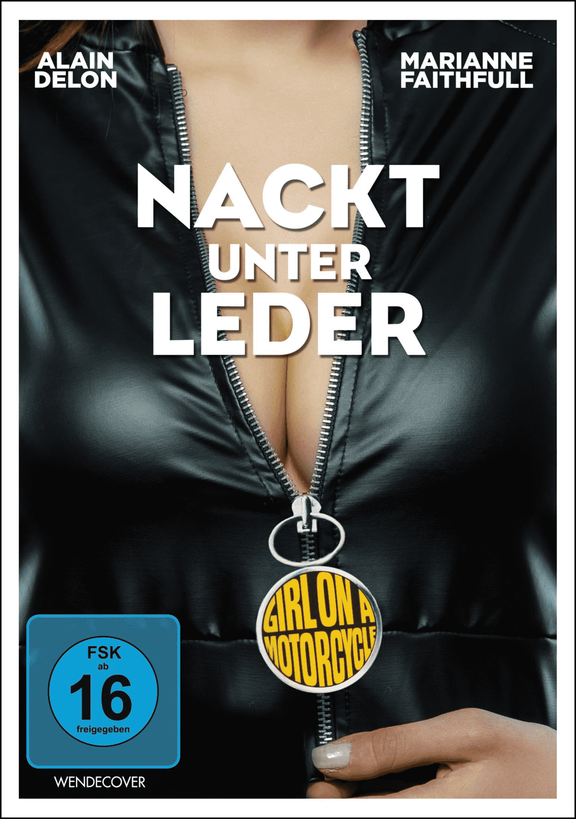Nackt unter Leder (The Girl on a Mo auf DVD