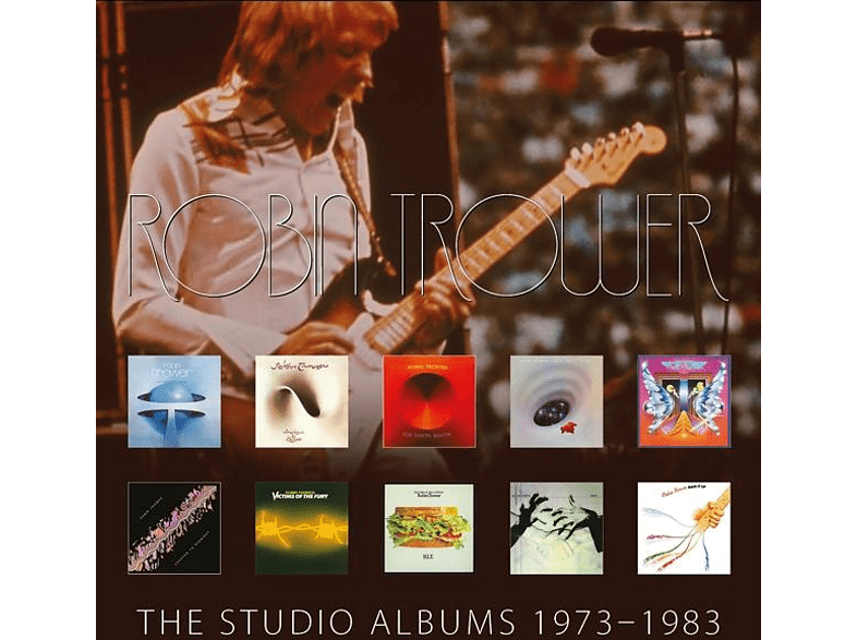 Robin Trower - The Studio Albums 1973-1983 [CD]