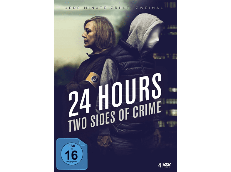 24 Hours-Two Sides Of Crime (4 DVDs) [DVD]