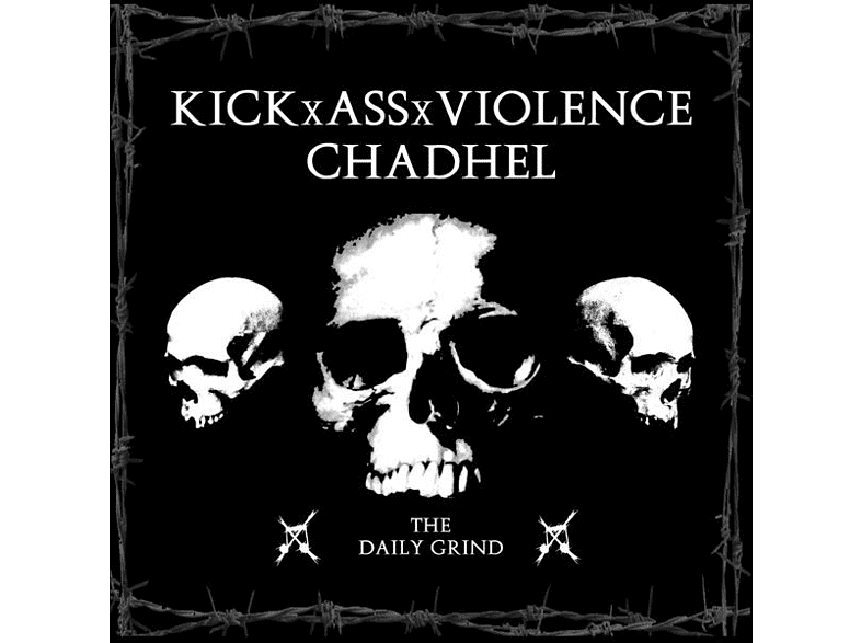 Kickxassxviolence & Chadhel - The Daily Grind [CD]